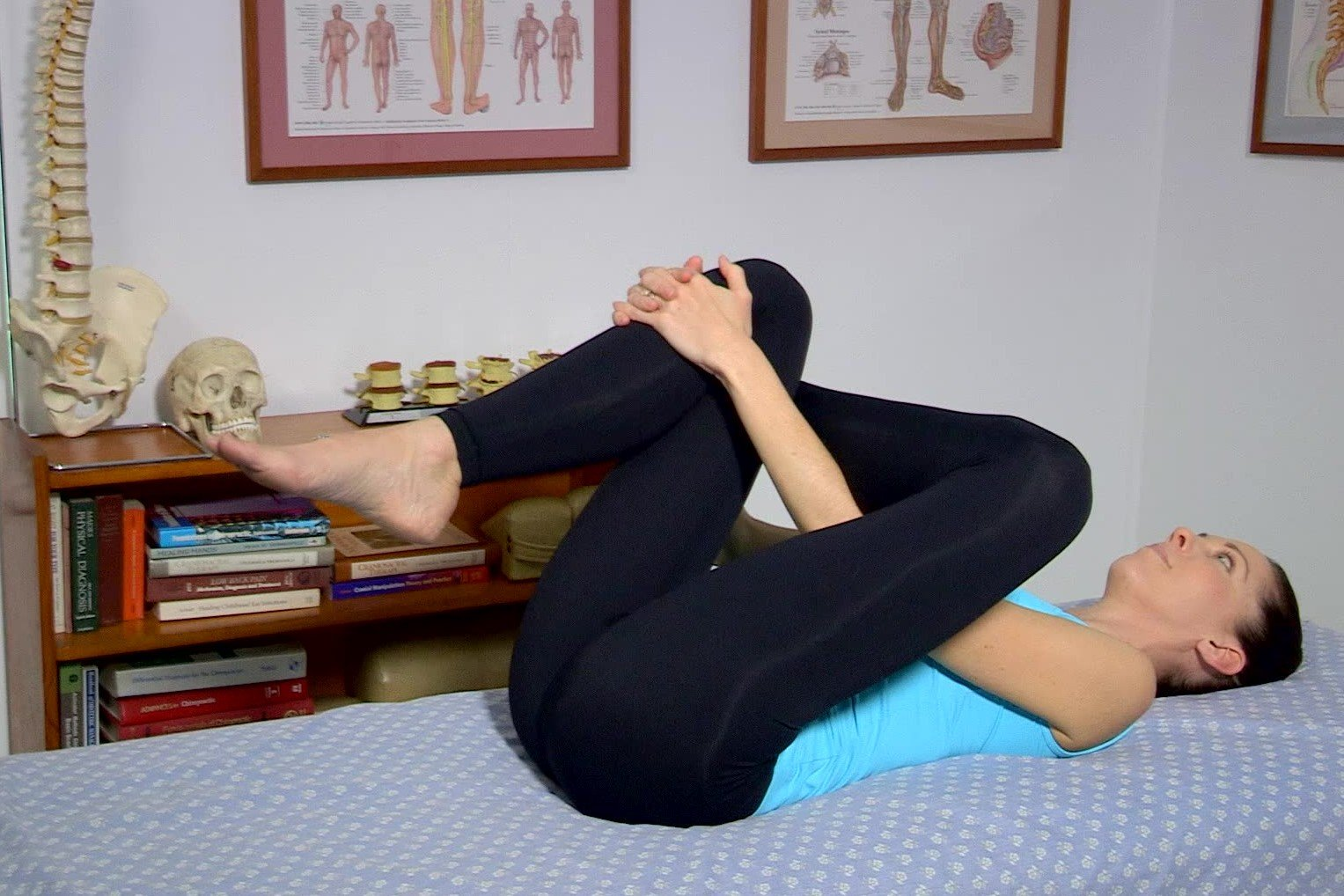 Low Back Flexibility Piriformis Glut Stretch