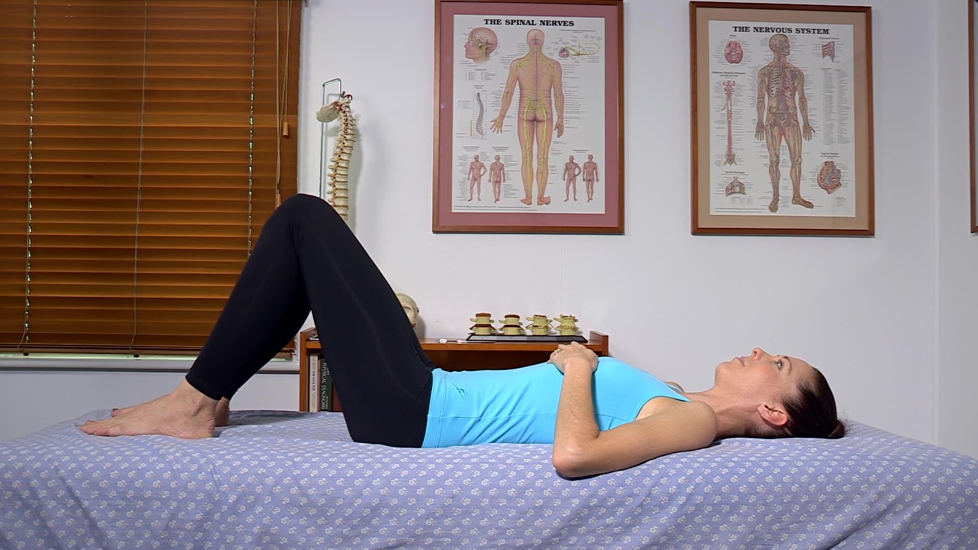 Low Back Strengthening Pelvic Tilt