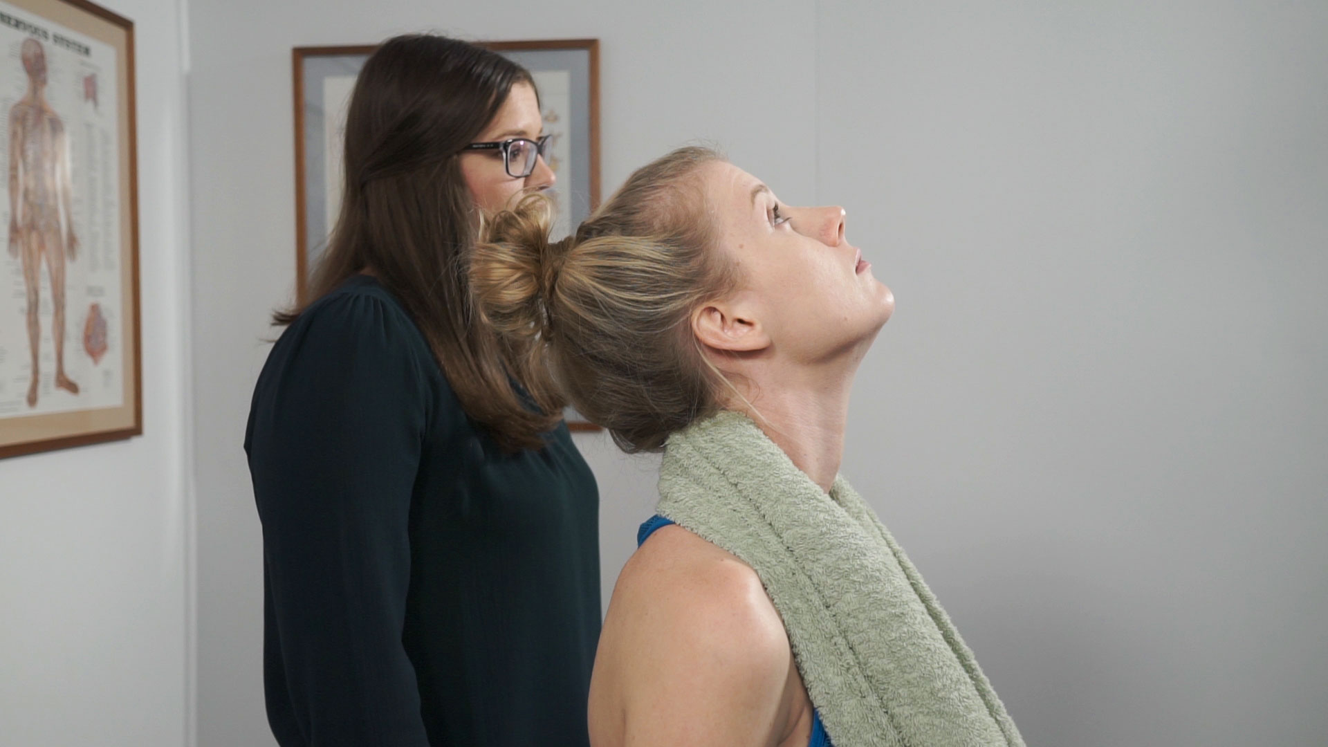 Cervical Curve Exercises Produced By Townsville Chiropractor